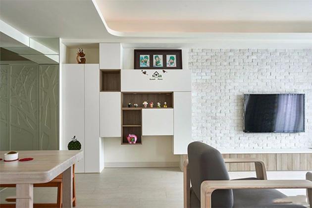 电视墙的设计客厅
